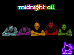 Midnight Oil Wallpaper