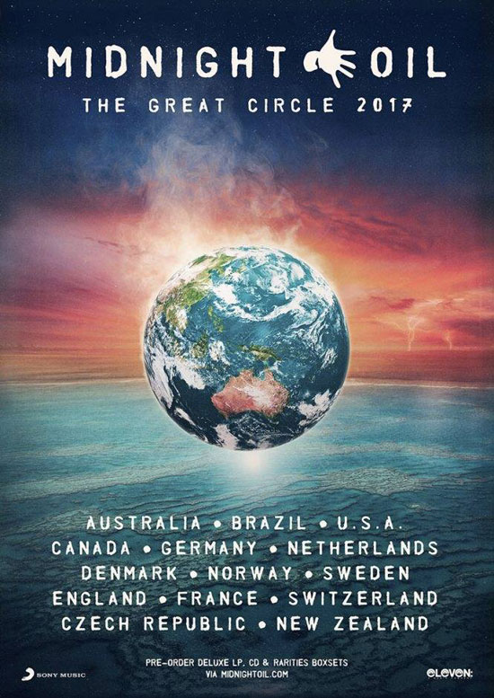 The Great Circle 2017 World Tour